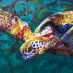 Serene Sea Turtle – Ltd Ed Print