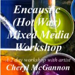 Workshops – Encaustic (hot wax) Mixed Media