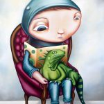 'Lizard Boy' (A2 Limited Edition Print)