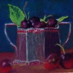 Cherries in silver