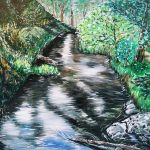 RIVER VIEW IN WONDERLAND – Yarra River – Full size (Large) LIMITED EDITION Giclée print