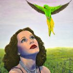 'Apparition' Parrot Hollywood painting