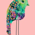 Tropical Rainbow Bird Ltd Ed Print