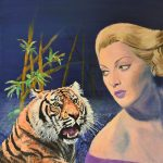 `Tigress' Tiger surreal painting