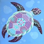 Dreamy Turtle Painting