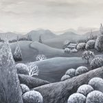 Mountains in the Mist (SOLD)