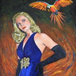 `Jungle Siren' – Macaw Painting