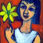 The Yellow Flower An Expressive Art Study