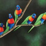 Rainbow Lorikeet Party