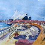 Ltd Ed Print Sydney Sails and Shapes