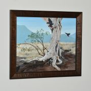 from-the-mountains-red-tailed-black-cockatoo-framed