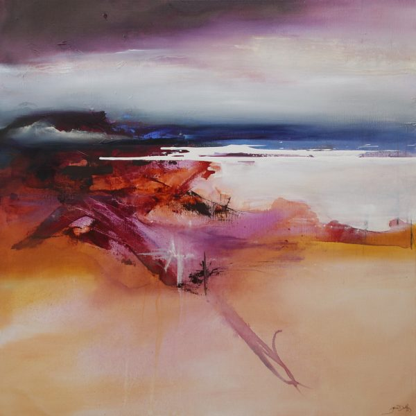Joanne Duffy Salt Tide oil on linen 101 x 101 cm 2015 3252