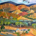 Homestead with Magpies 1