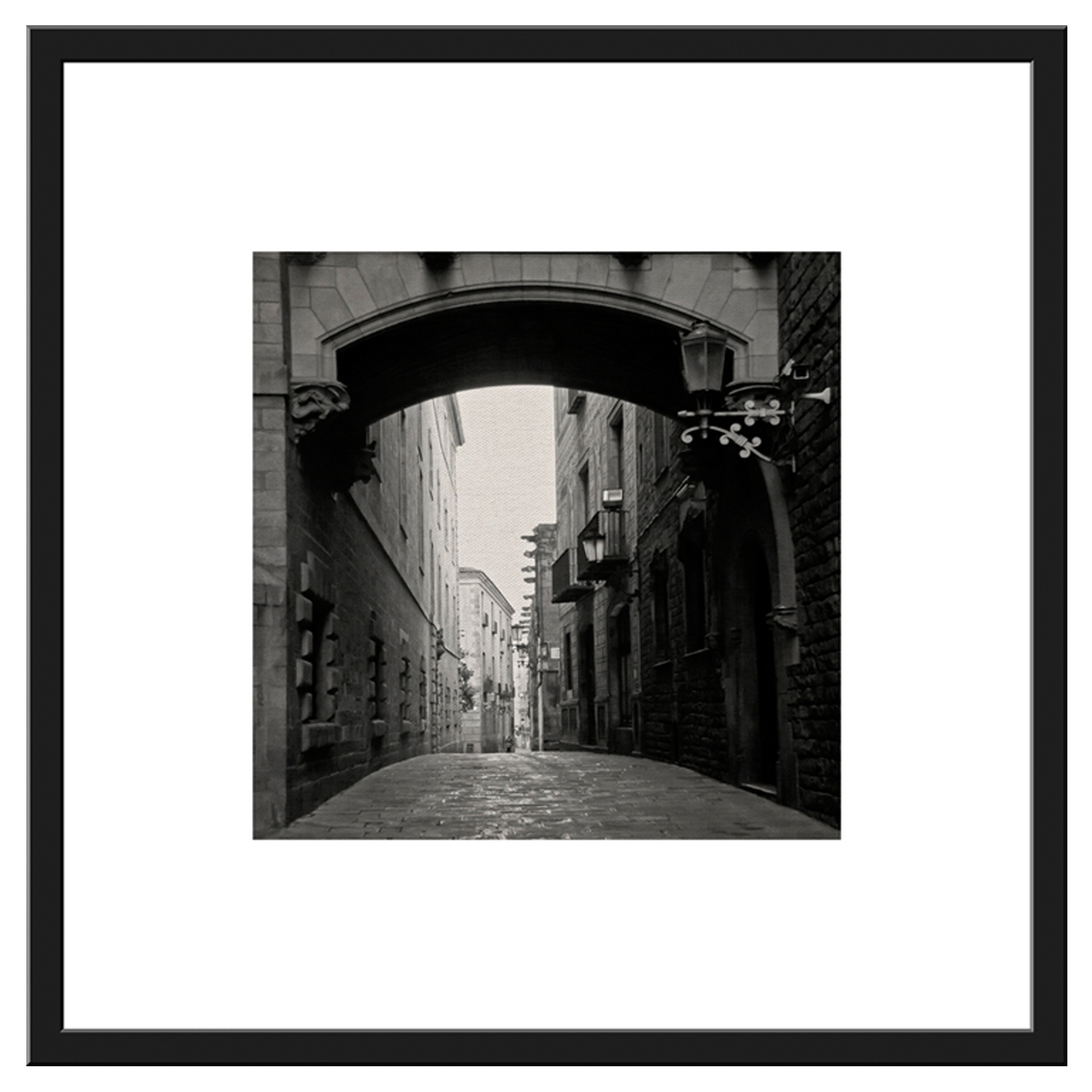 Pcb1034sq Barri Gotic Framed Border