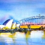 Ltd Ed Print – Sydney Harbour Bridge Sunrise