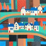 Tiny Town On The Patchwork Hill no.2