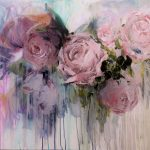 The Last of Spring Roses Original Painting