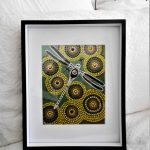 Framed print Dragonfly on the Billabong