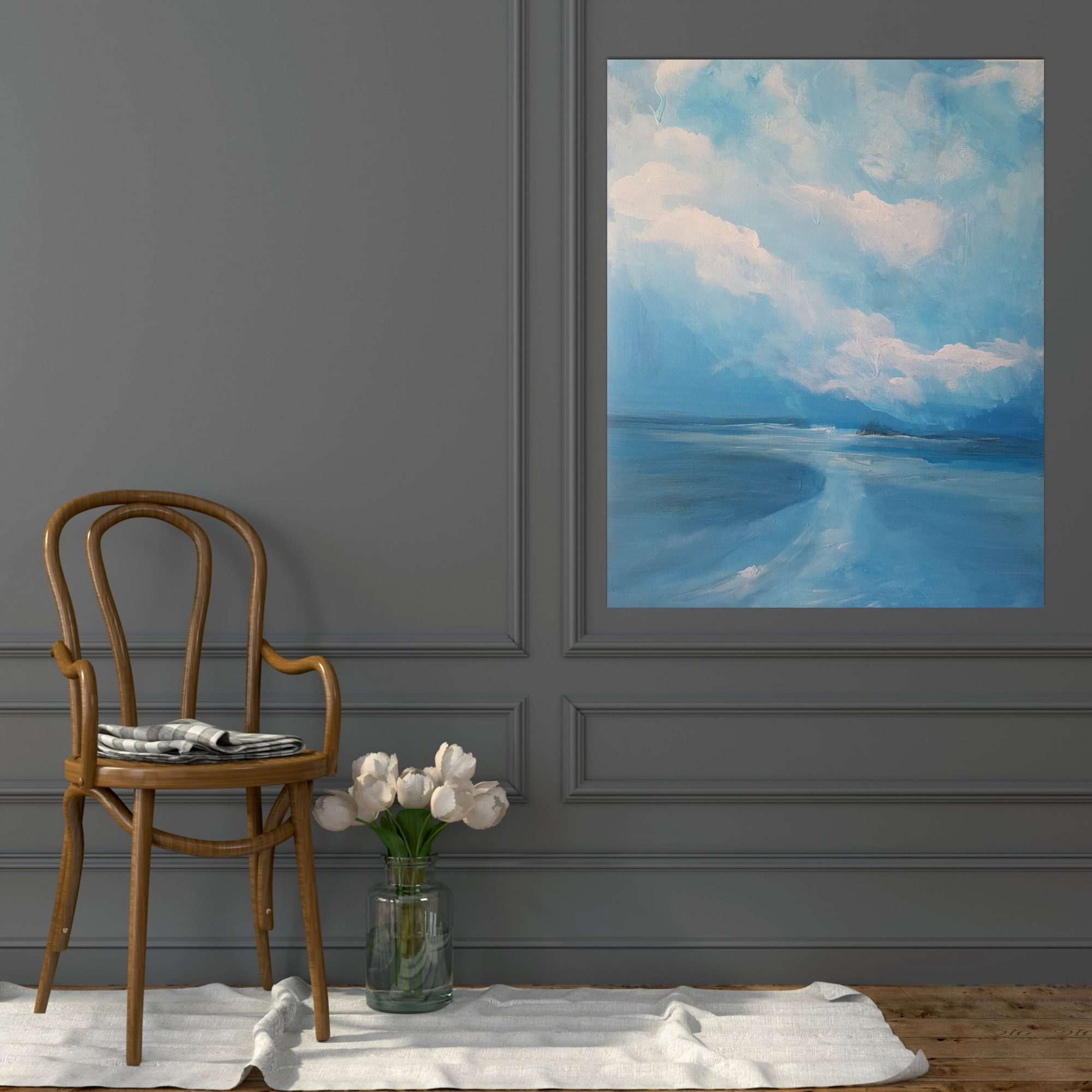 Long Reef Atol with plain chair
