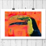 Happy Toucan Ltd Ed Print