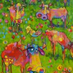 Cows are in the Meadows – Ltd Ed Print