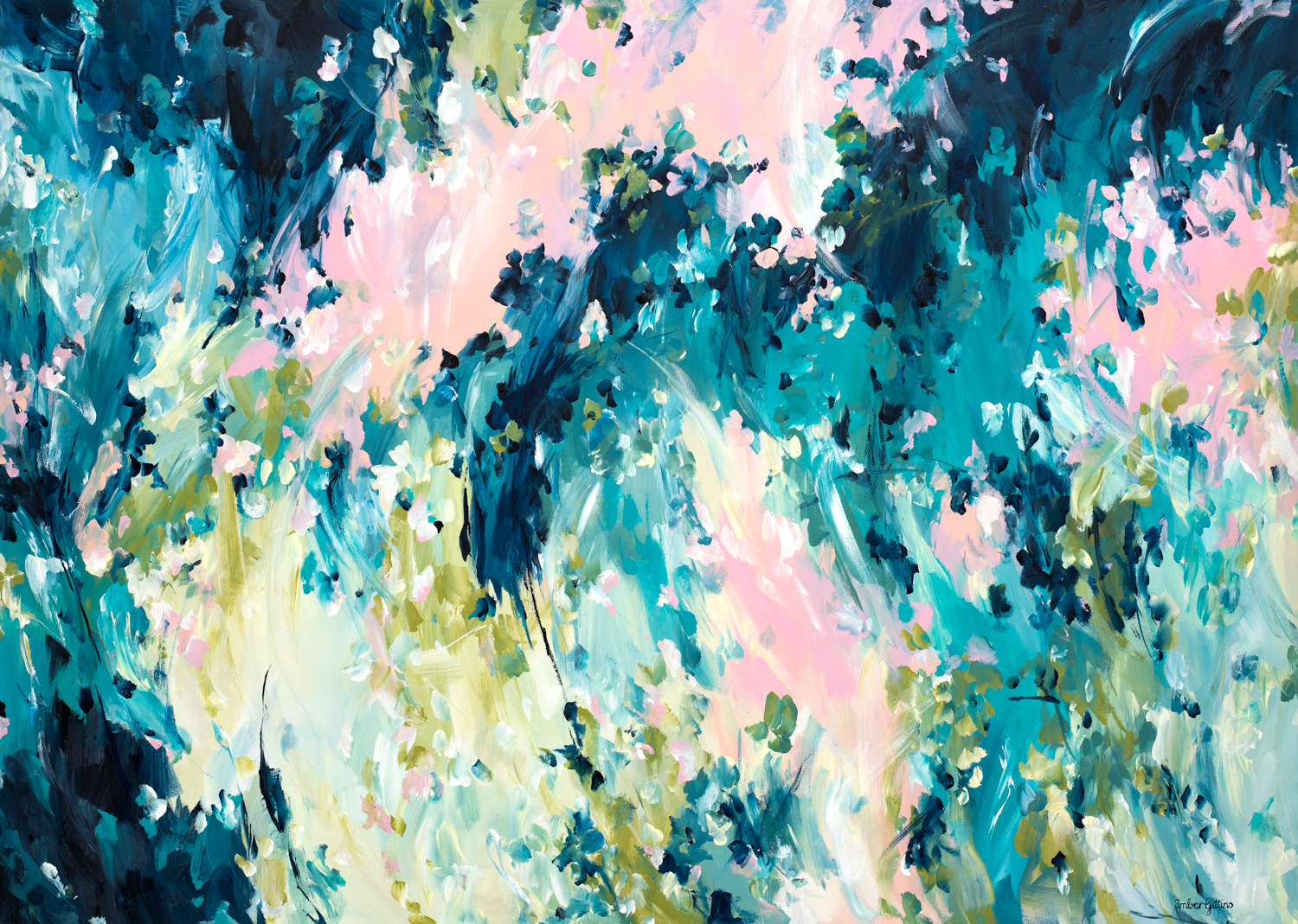 Endless-Passion-by-abstract-expressionist-artist-Amber-Gittins