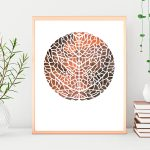 Arcuate leaf venation Ltd Ed Print
