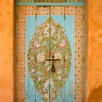 Colourful Entrance Door 1/2, Sale/Rabat, Morocco – Ltd Ed Print