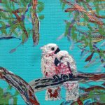 GALAHS IN THE GUM TREES No 15 Ltd Ed print