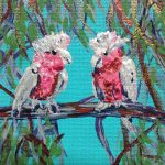 GALAHS IN THE GUM TREE NO 18 Ltd Ed print