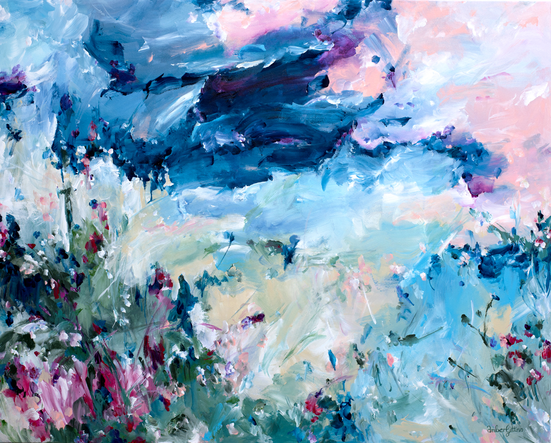 Summer-Breeze-Abstract-Landscape-painting-by-Amber-Gittins