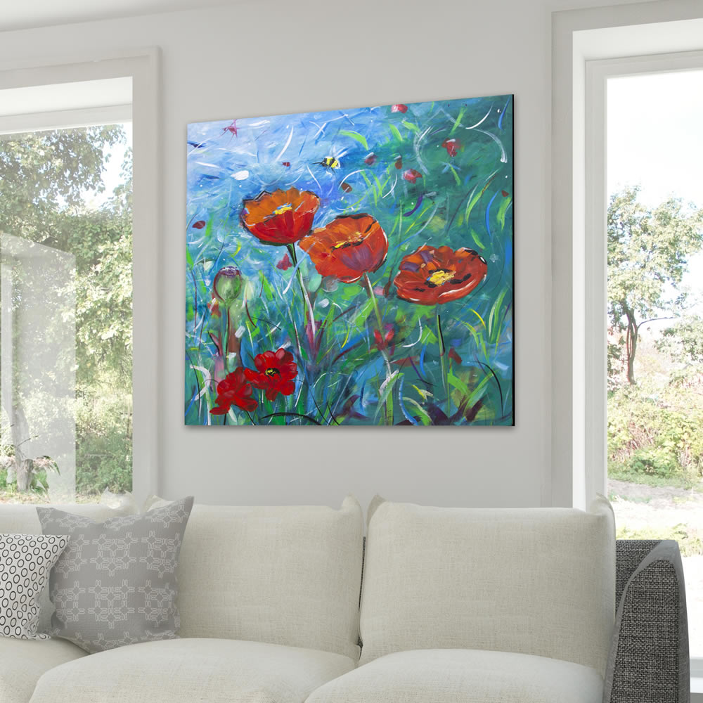 Tania-Chanter-paint-the-sky-with-petals-in-room