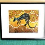 Framed MOTHER KANGAROO Ltd Ed Print