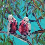 BIG GALAHS IN THE GUM TREE NO 6 Ltd Ed print