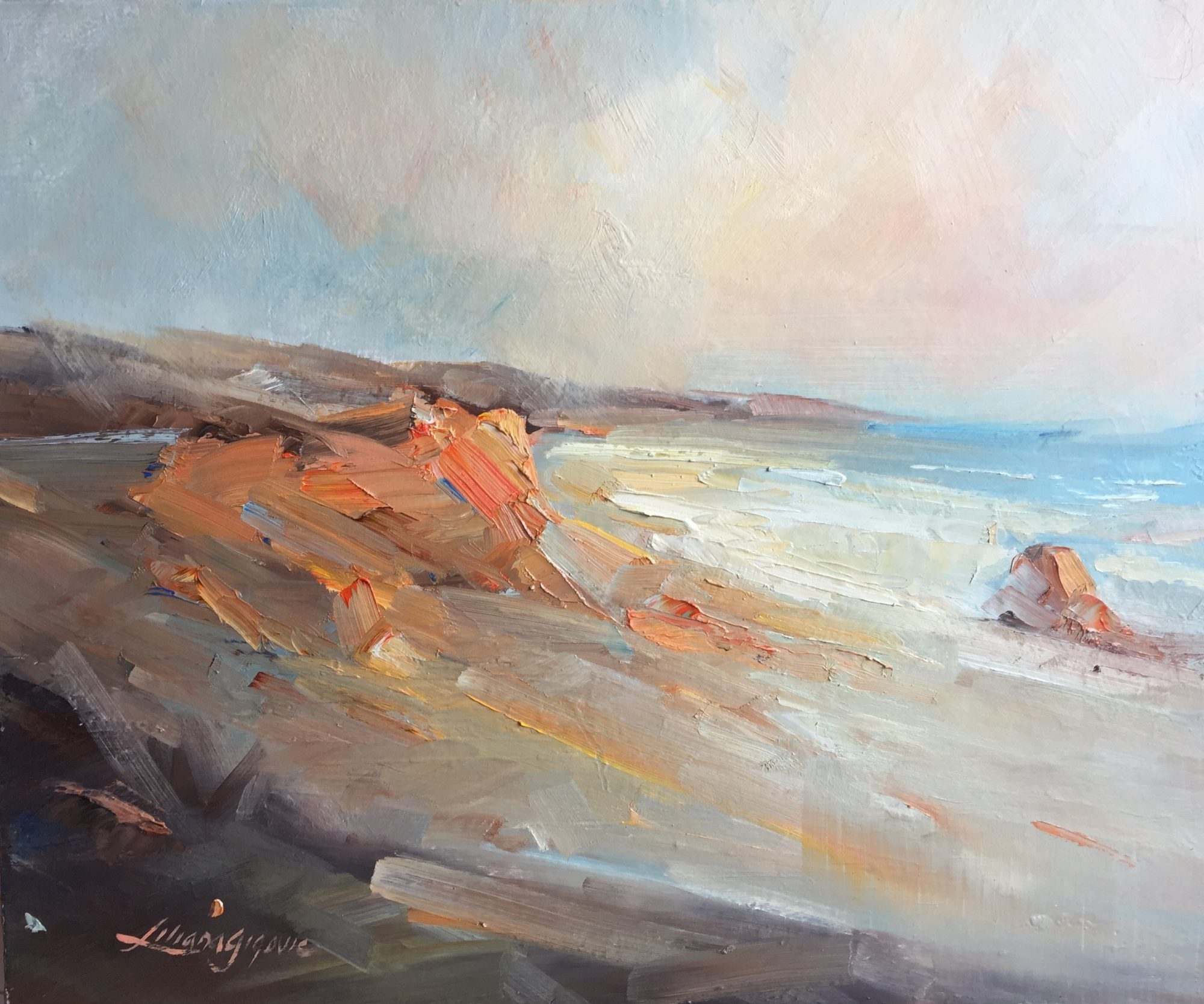 10- Colors of Port Campbell, 61x51cm, $670.00