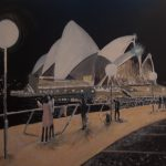 Night Opera House ( unavailable due to present exhibition Gauge gallery Glebe NSW)
