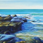Beside the Rocks, Seascape