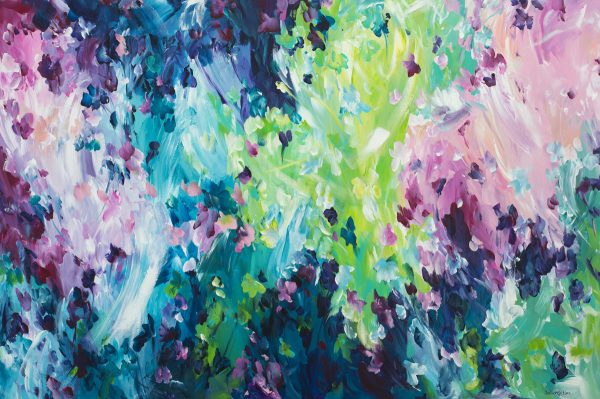 Acquired Love By Amber Gittins Australian Abstract Artist