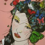 BUTTERFLY  HEAD GEISHA
