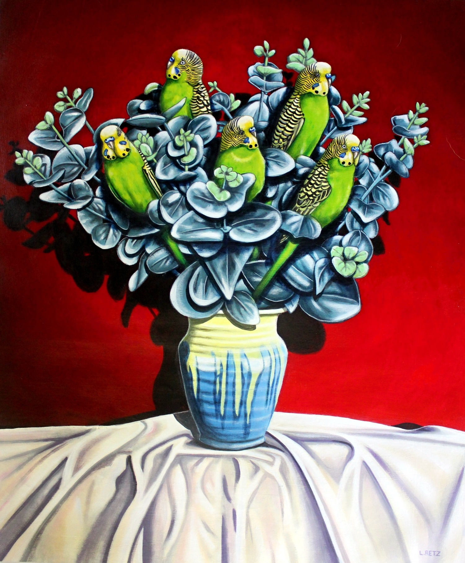 Budgies In Remued Sm