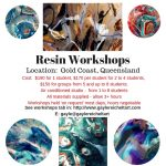 Resin Art Workshops in the Gold Coast, Queensland