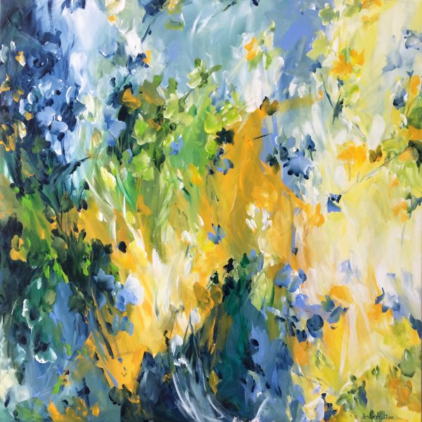 Springtime In The Outback By Amber Gittins Art
