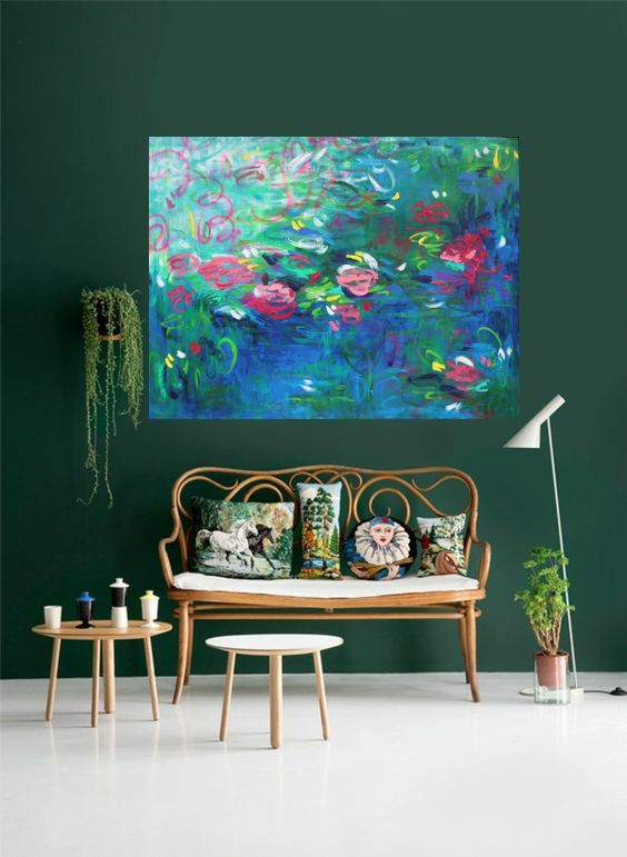 Belinda Nadwie Art Abstract Painting Loving Is Easy 1