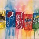Abstract Soft Drink CZ18047