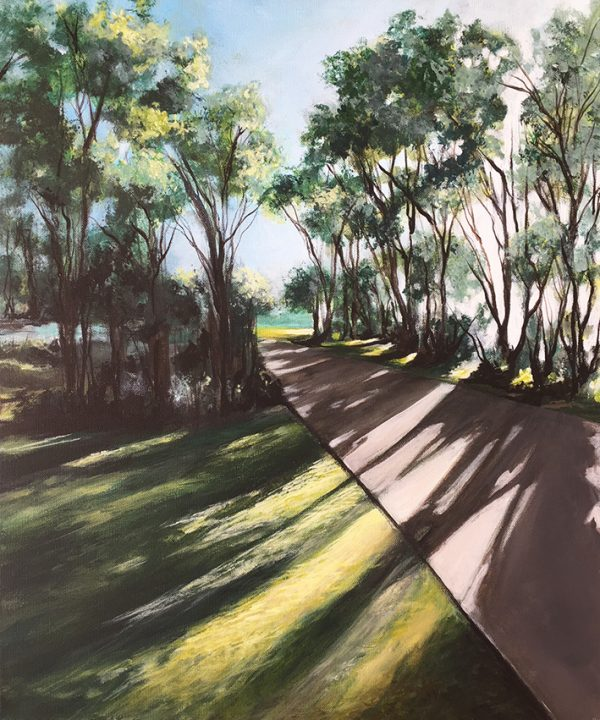 On The Path At Cotton Tree 2