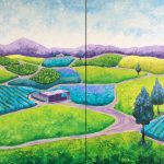 Where The Sun Shines Diptych (SOLD)