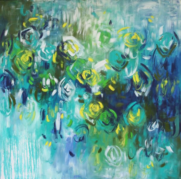 Belinda Nadwie Art Abstract Painting Sweet Surrender
