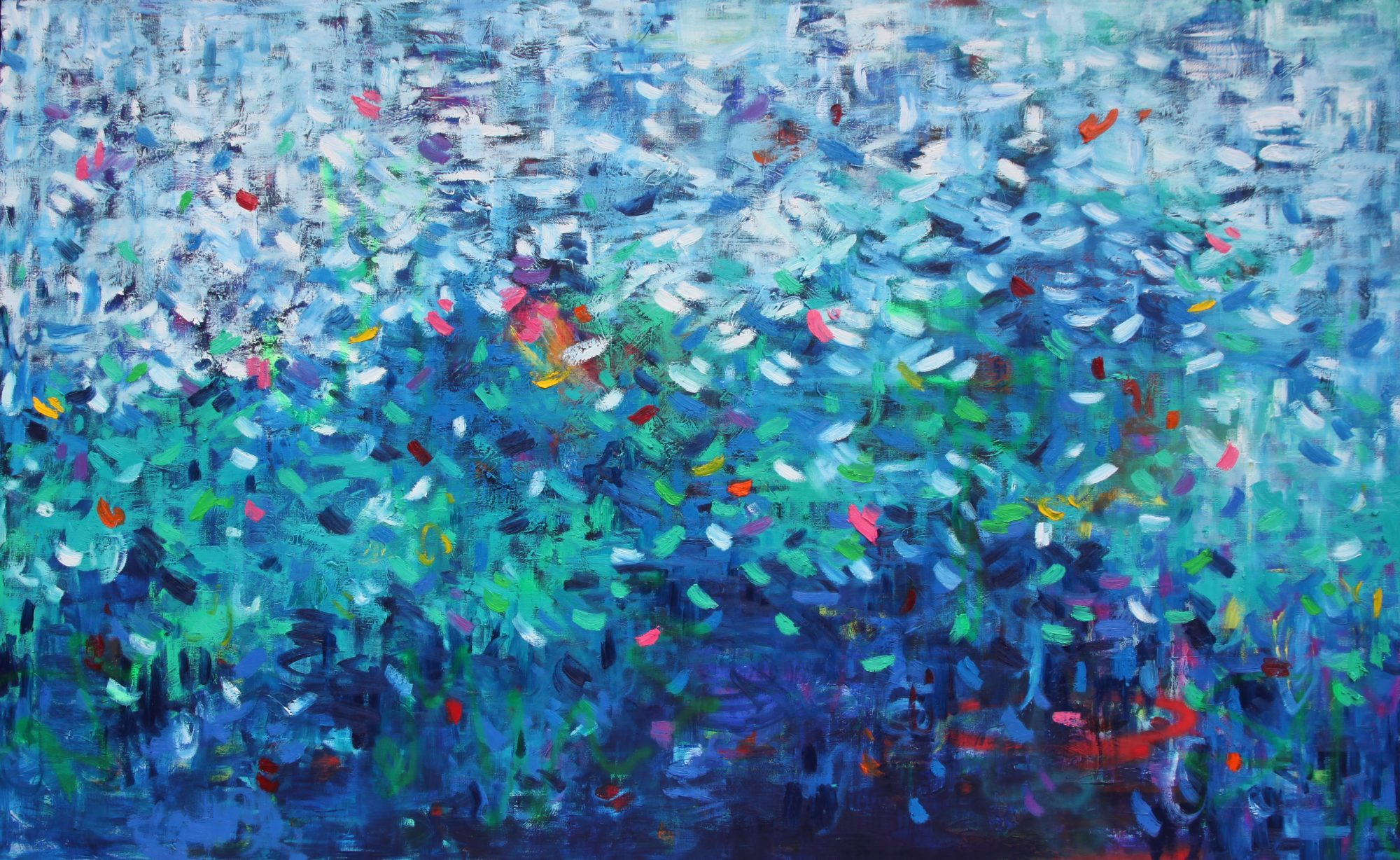 Belinda Nadwie Art Abstract Painting The Great Deep