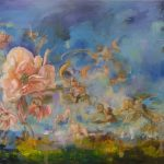 Heaven in a Flower Ltd Ed Print on canvas