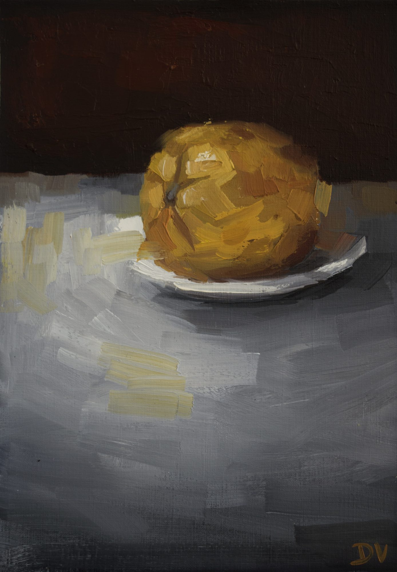 Orange With Plate 2a